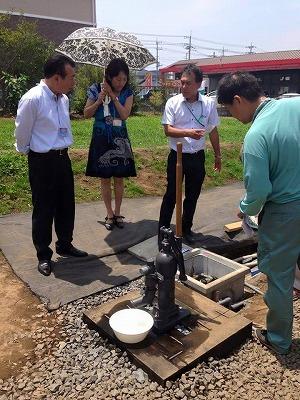 井戸 防災対策 地中熱の家 G-BEC 水戸 エコ