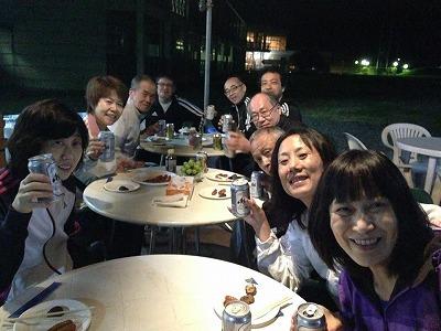 キキコンサルティング 石田由紀子 卓球合宿 プライベート ディナー みんなで 保険代理店 楽しい