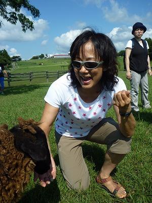 羊 キキ・コンサルティング 石田由紀子 レジャー プライベート マザー牧場 ジンギスカン